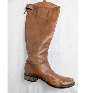 Sam Edelman tan penny riding boots